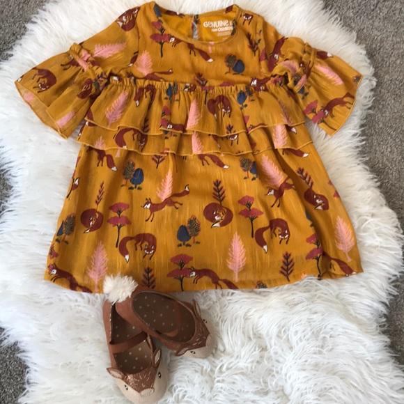 9155f38093f1 OshKosh B'gosh Dresses | Fox Shift Dress | Poshmark